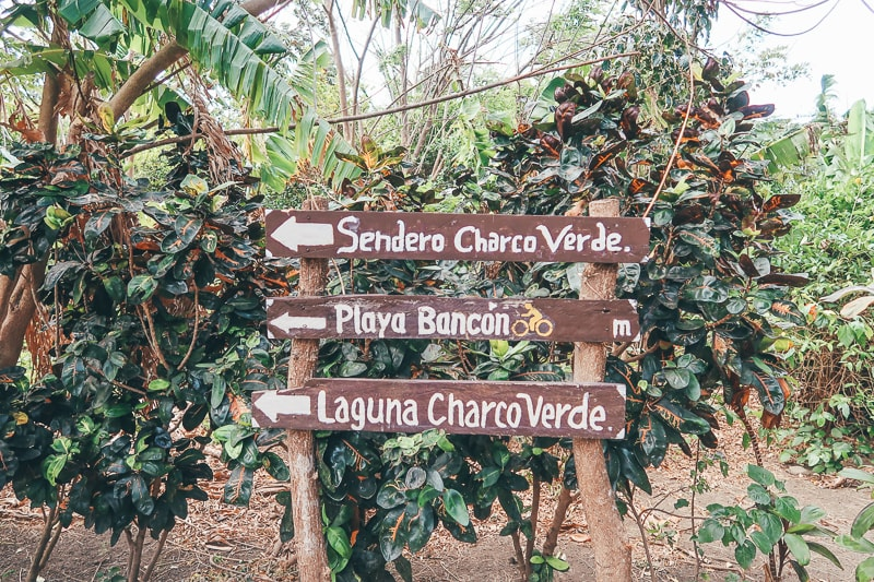 map of charco verde