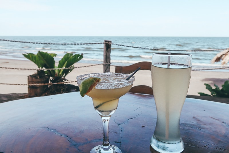 cocktails in ometepe