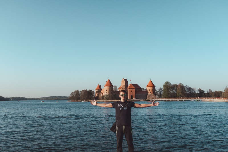 bad at trakai castle