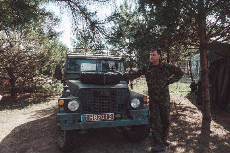 army tank in vilnius