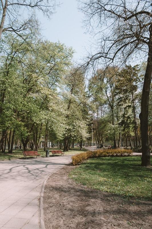 gardens in vilnius