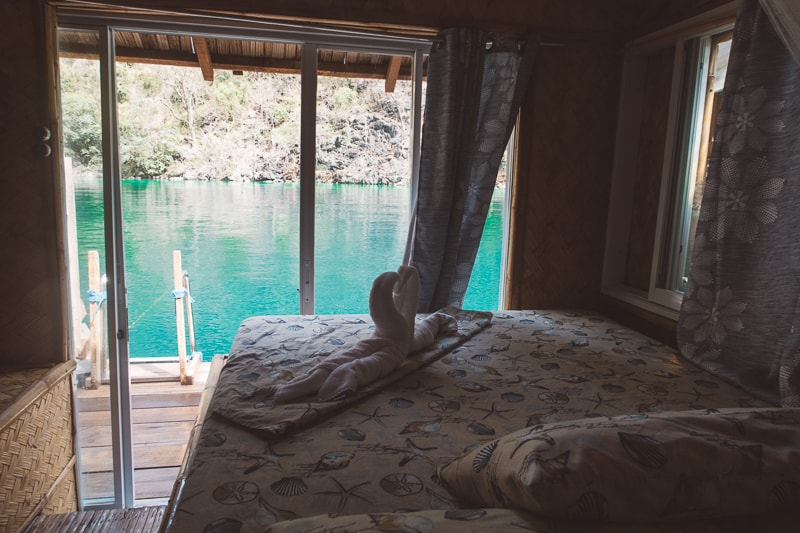 bedrooms views from paolyn houseboat