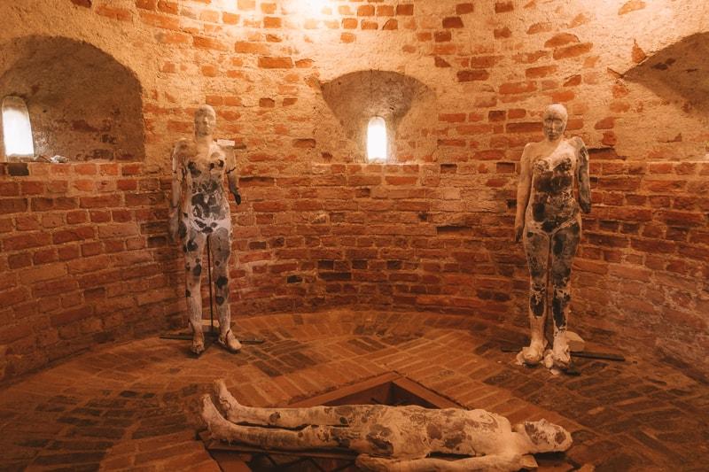 inside Panemunės pilis