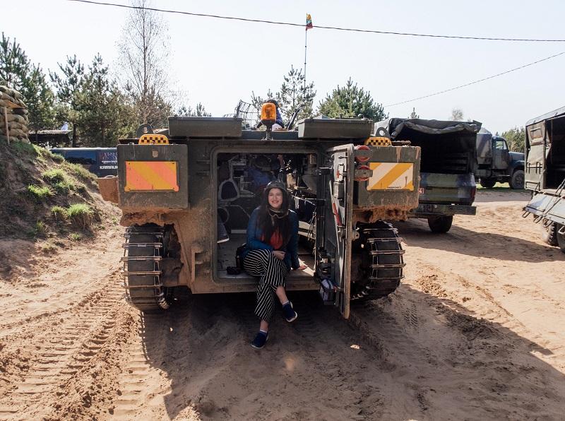 tanks in lithuaina