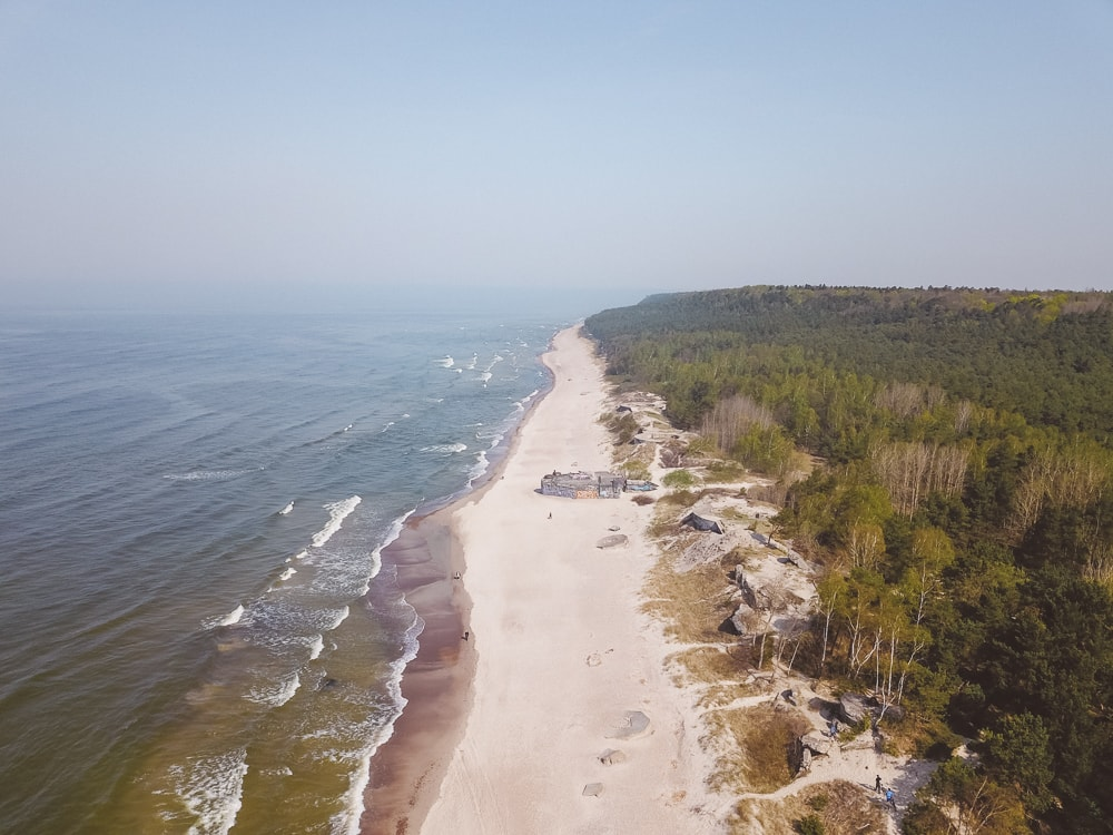beaches in lithuainia