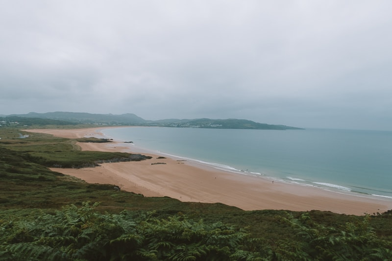 beach in donegal