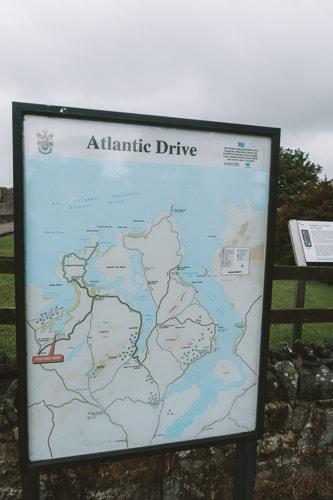 atlantic drive map