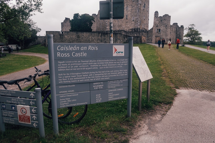 ross castle prices