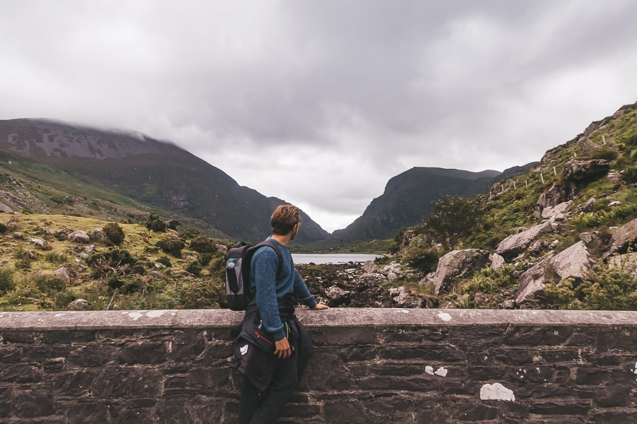walking through gap of dunloe