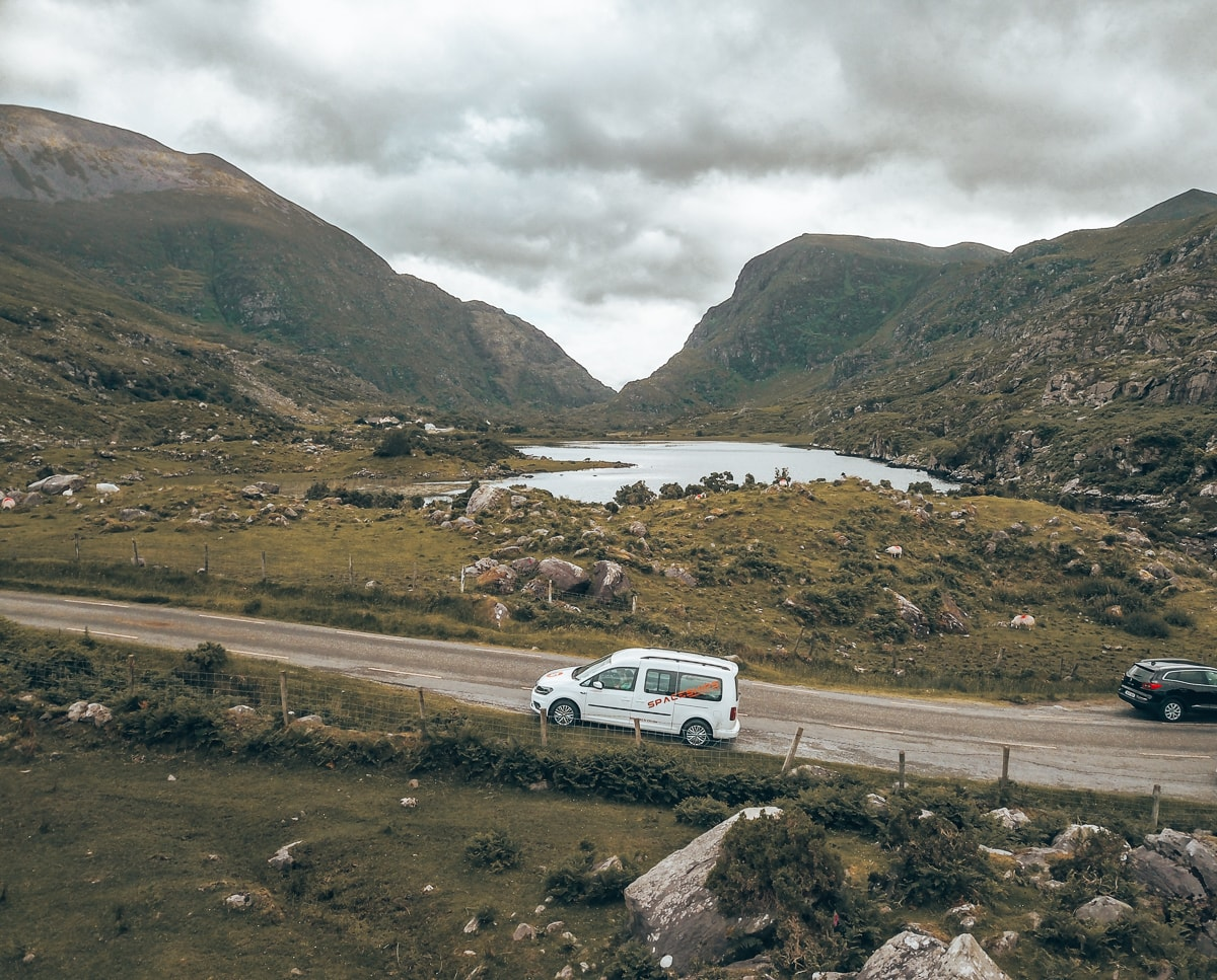 gap of dunloe campervan