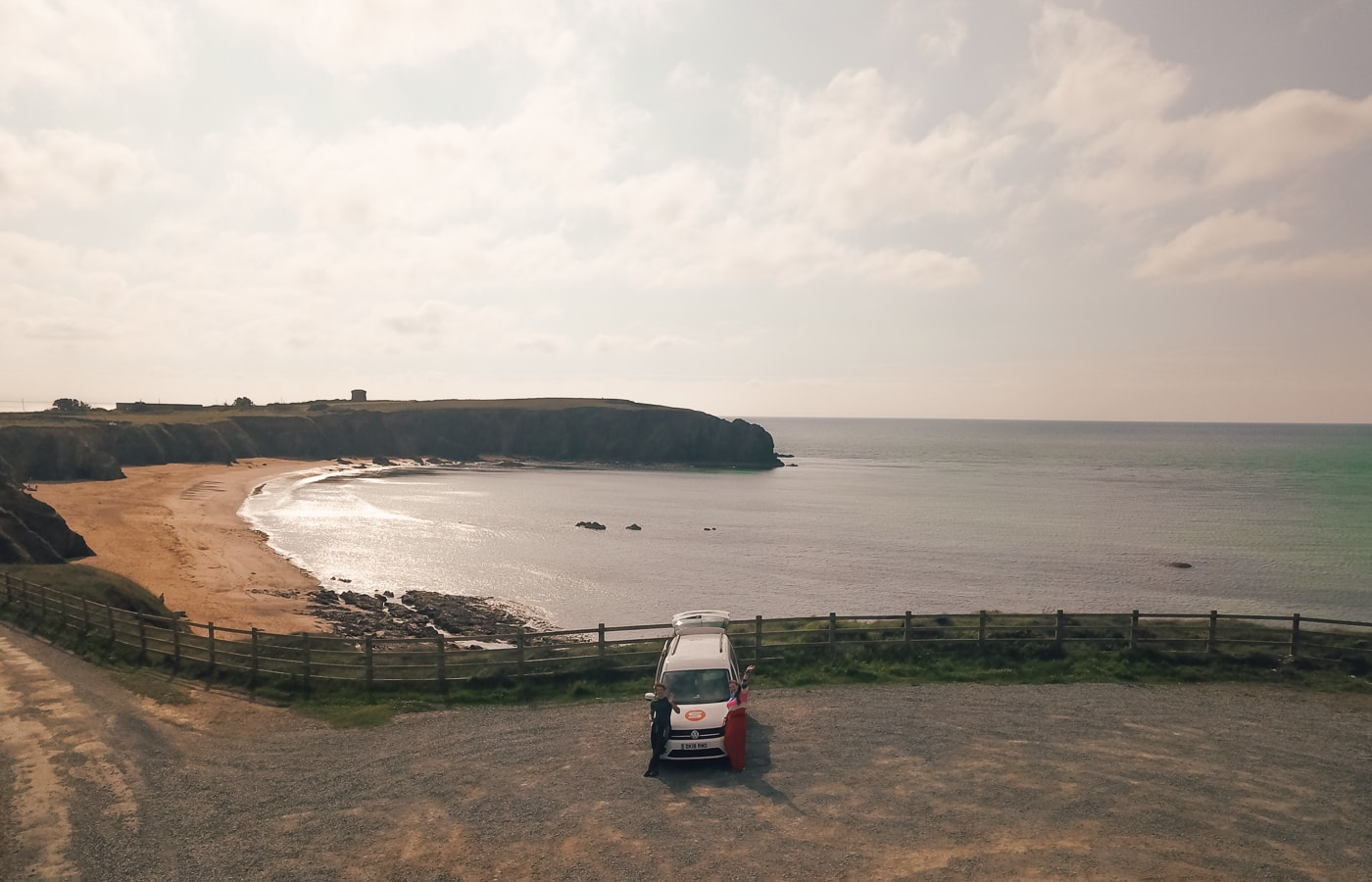 wild camping at wexford beach
