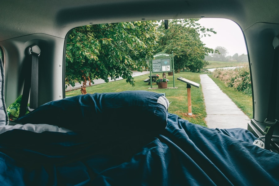 camping views spaceships