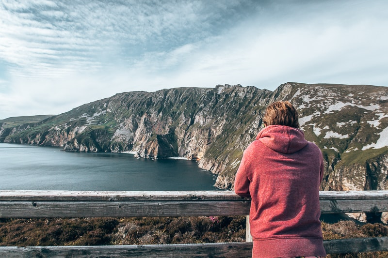 slieve cliffs in donegal