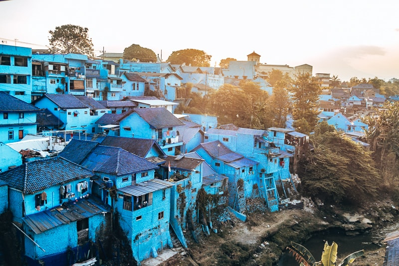 blue village malang