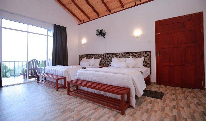 Rooms at Ella Red Rock hotel in Ella