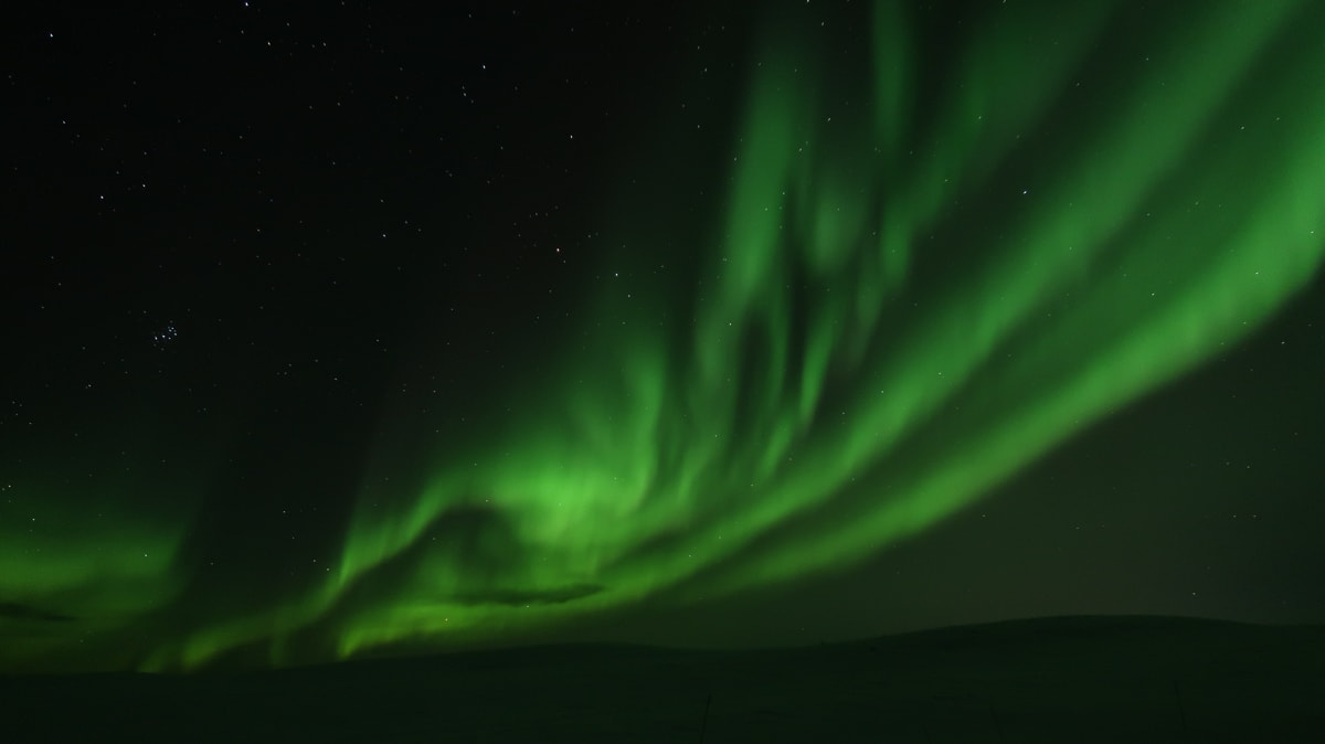our Northern Lights wilderness tour