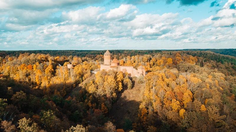castles in lativa
