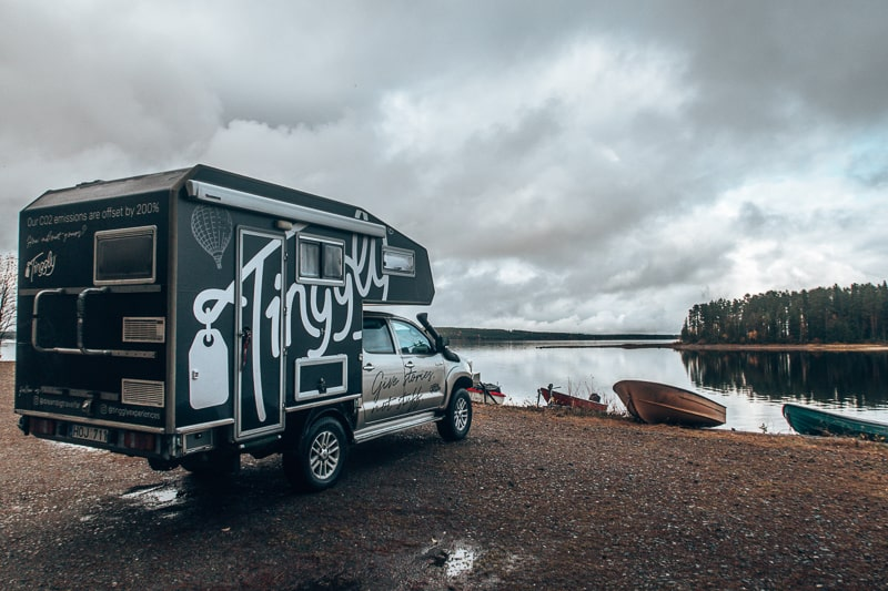 wild camping in finland