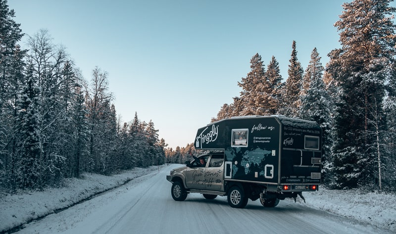 tinggly roadtrip in finland