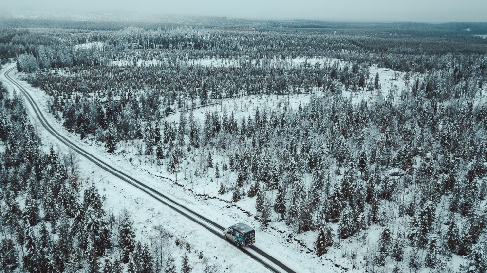 roadtripping finland