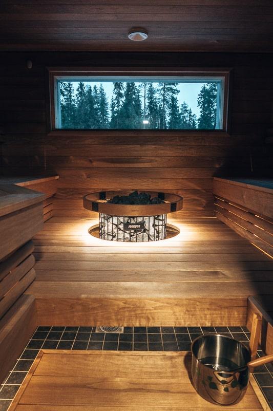 saunsas in finland