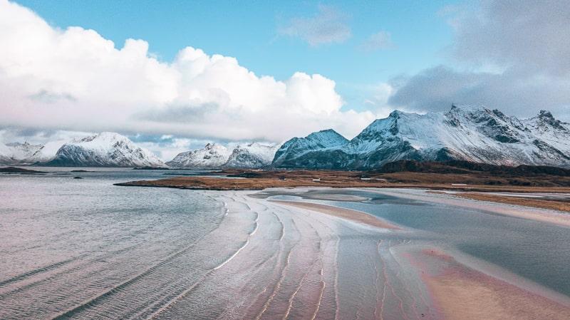 Rorvikstranda beach
