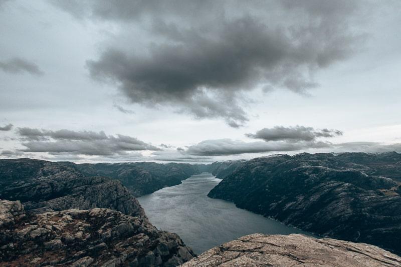 views from puplit rock