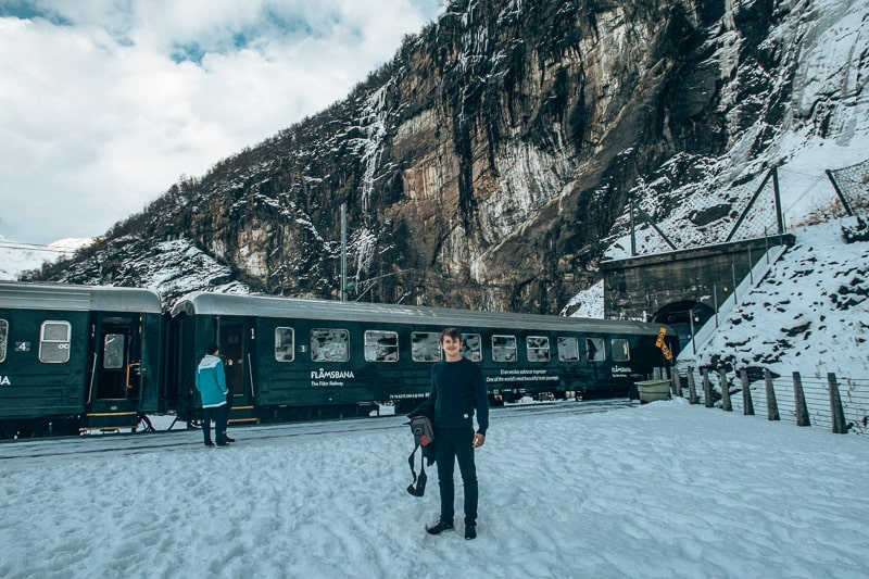 brad at flam railway