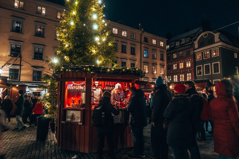 sweden christmas markets