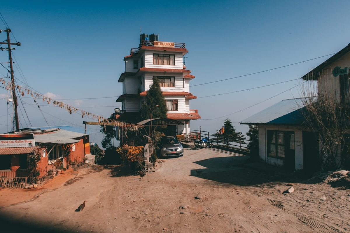 hotels in nagarkot