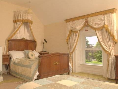 bedroom at The Castle Country House B&B