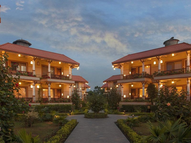 Green Park hotel in Chitwan