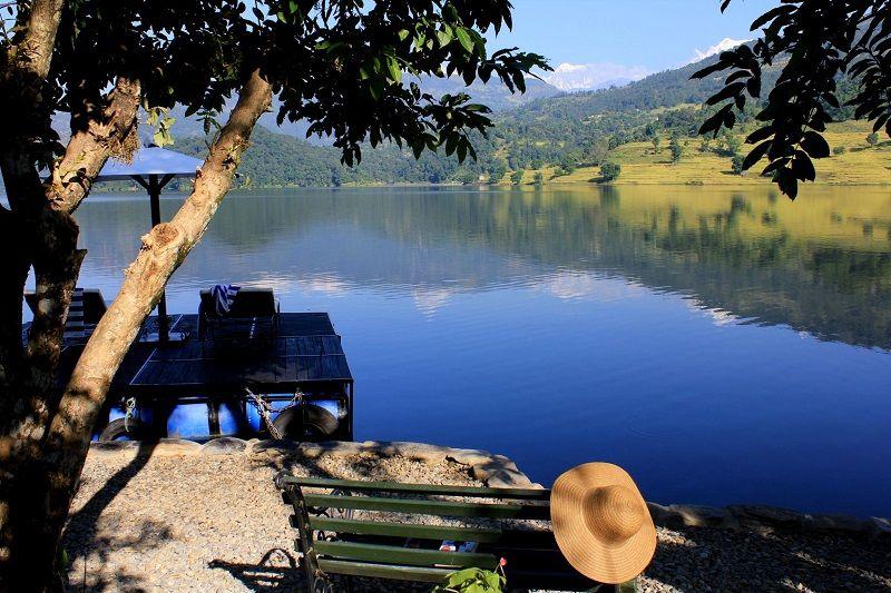 The Begnas Lake Resort in Pokhara