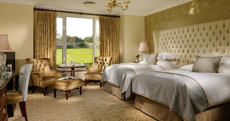 Glenlo Abbey Hotel room