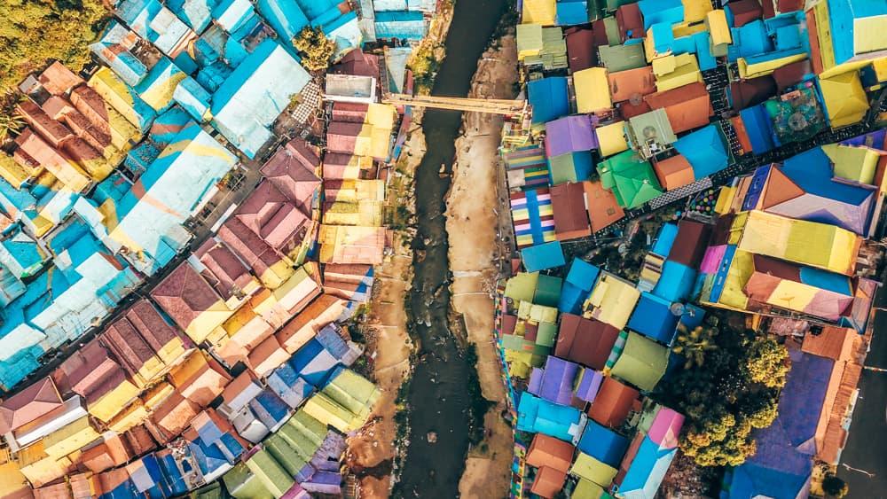 jodipan rainbow village