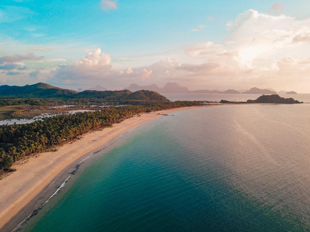 beautiful nacpan beach el nido