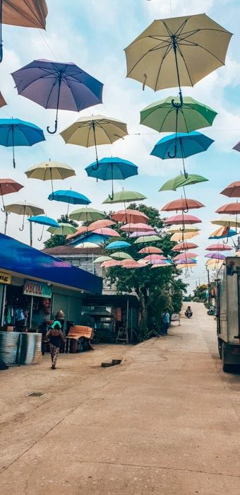 umerella street at sugba lagoon