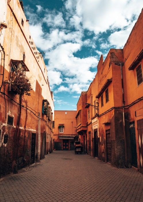 red city marrakech