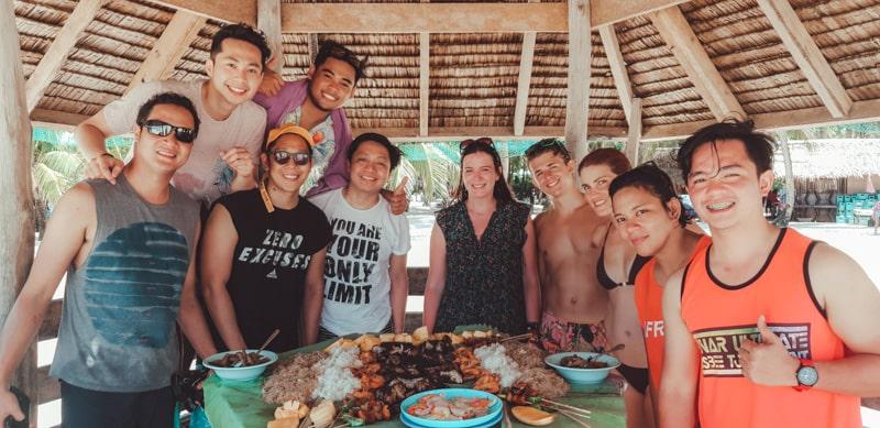 filipino beach bbq