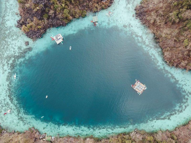 Paolyn Houseboats location Coron
