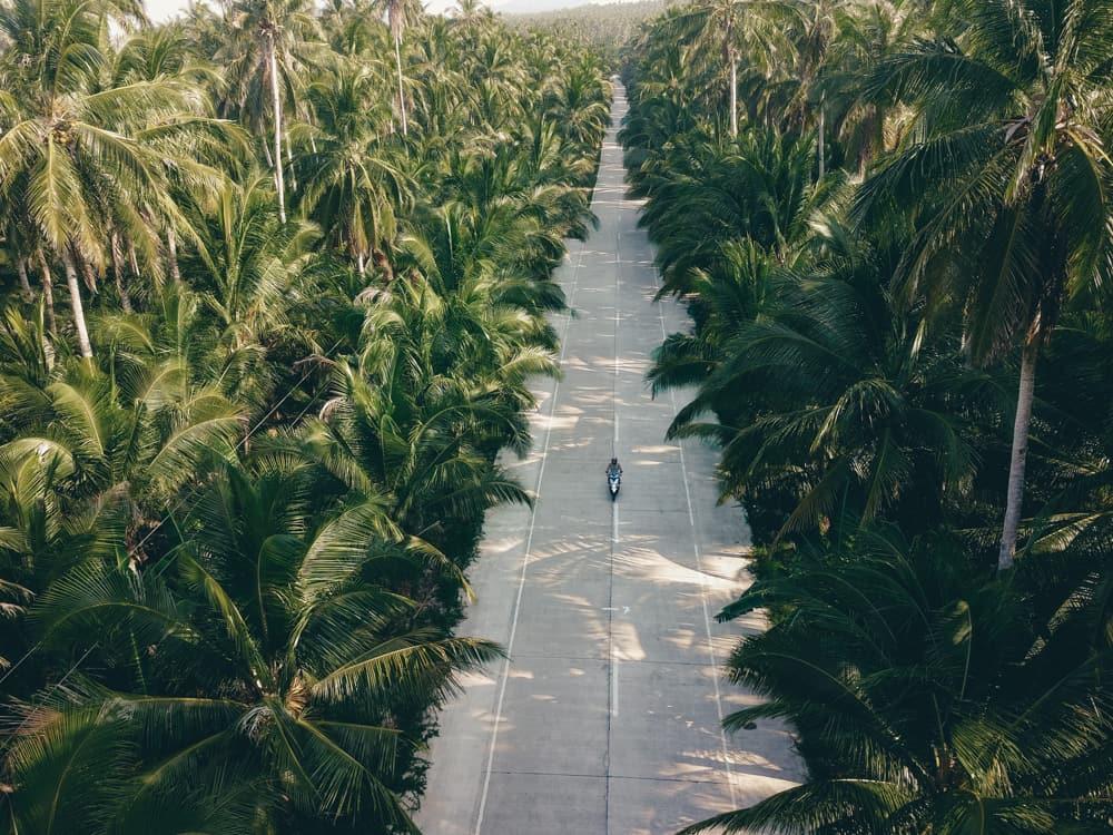 roads in siargao