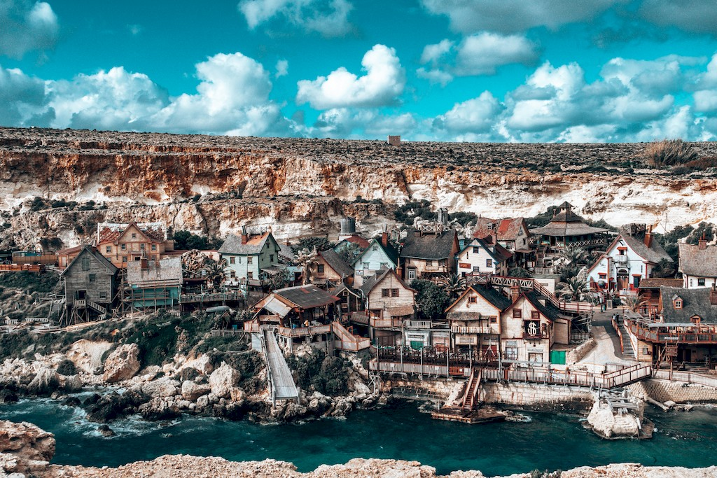 view of popeye village malta