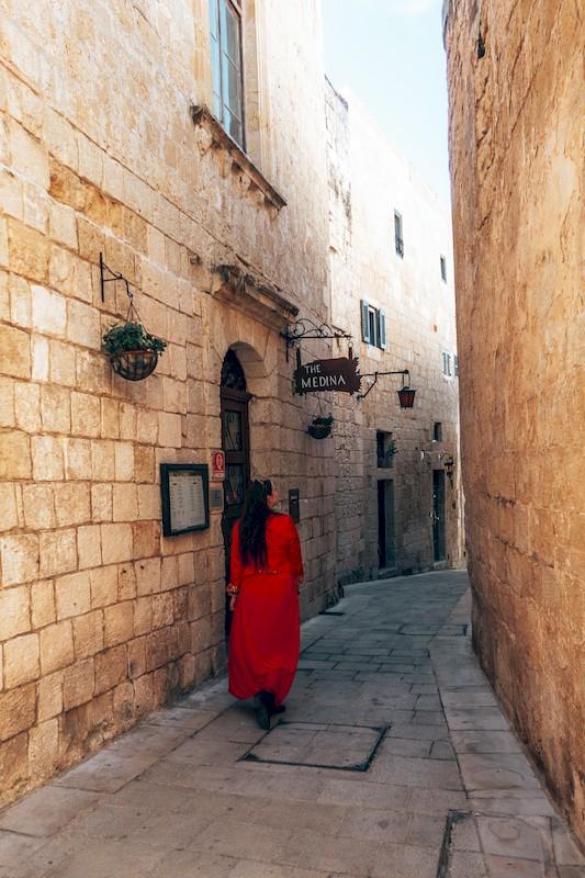 the silent city malta