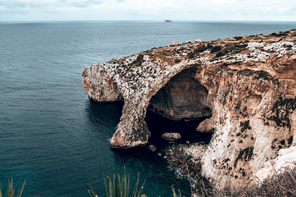 blue grotto viewpoint