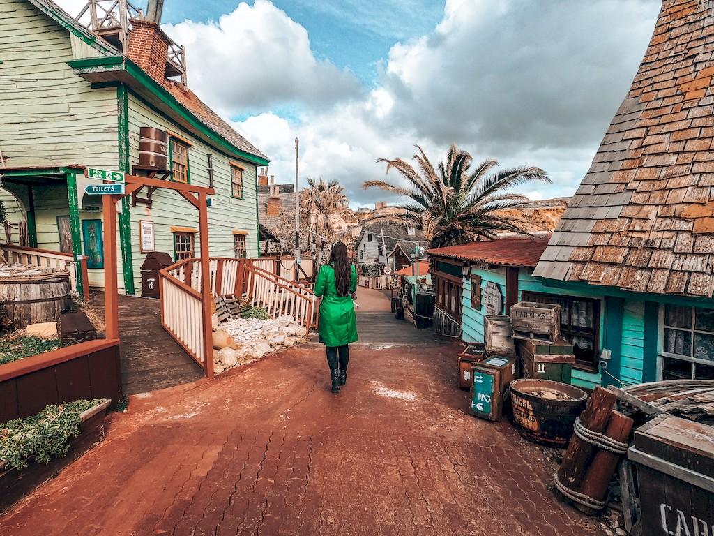 popeye village set
