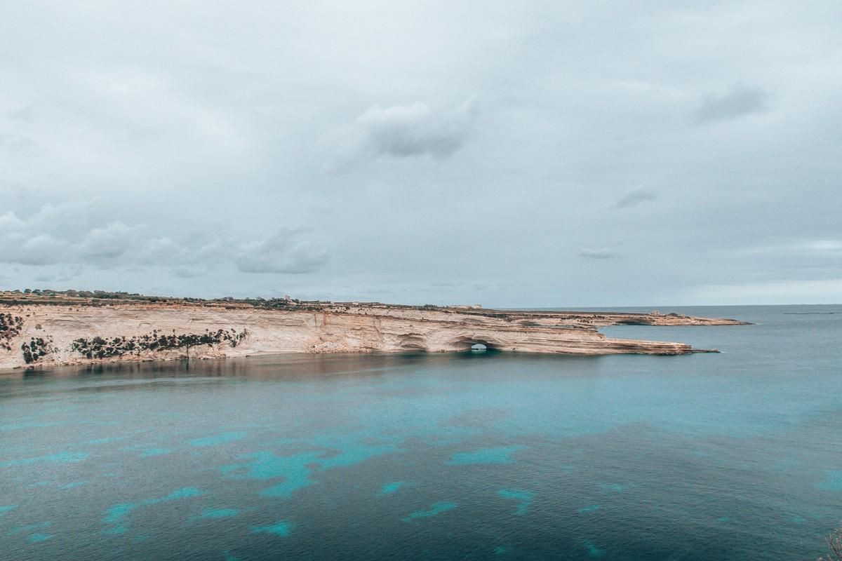 views at st peters pool malta