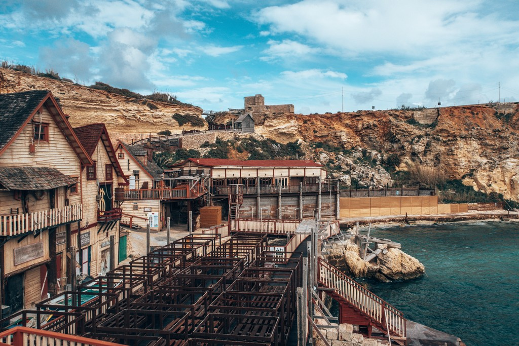 popeye village set malta