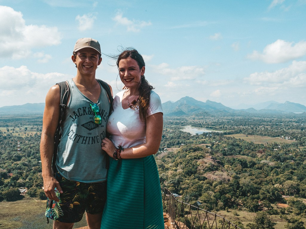 sigiriya lion rock views