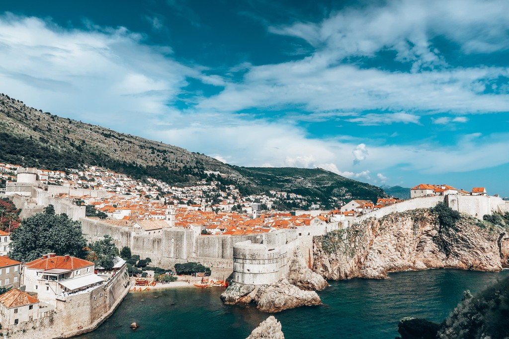 backpacking dubrovnik