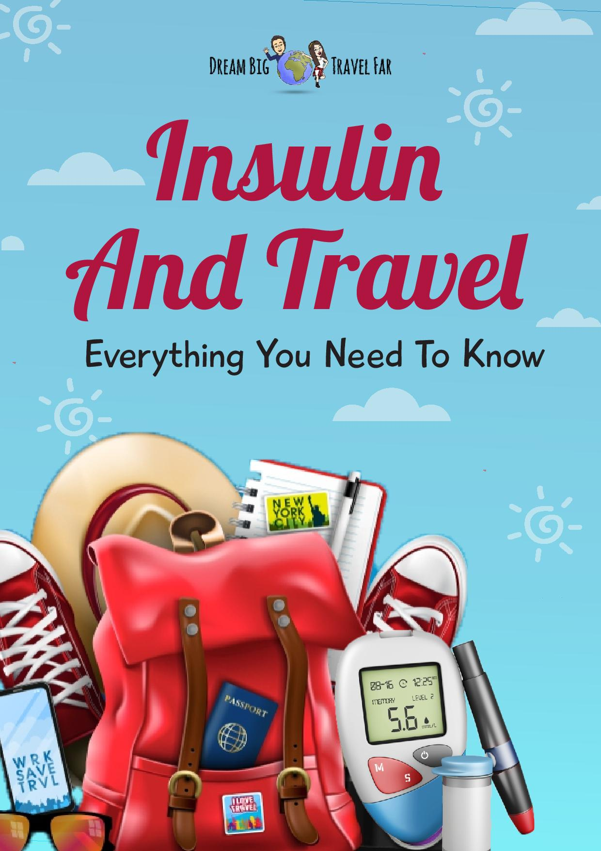 cover of insulin and travel eBook